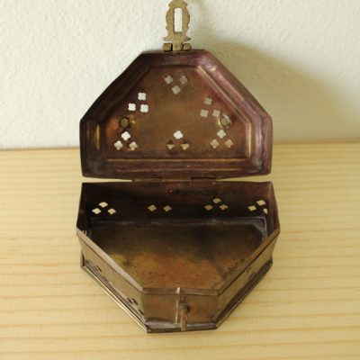 Vintage Brass Trinket Box