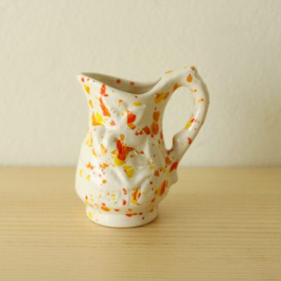 Miniature Splatter Painted Pitcher