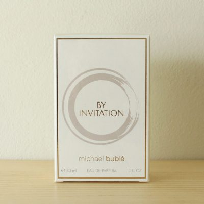 NEW UNOPENED Michael Buble By Invitation Eau De Parfum Perfume 1 OZ