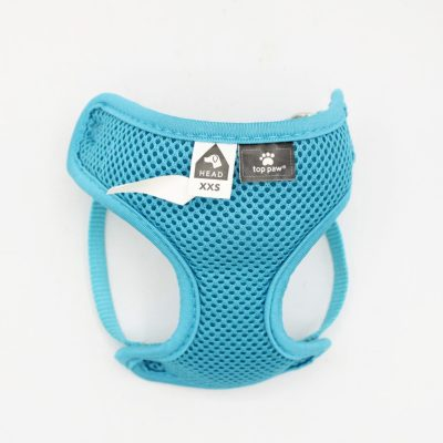 Top Paw Head Blue Mesh Comfortable Harness XXS