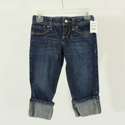 Old Navy Cuffed Jeans | Size 6