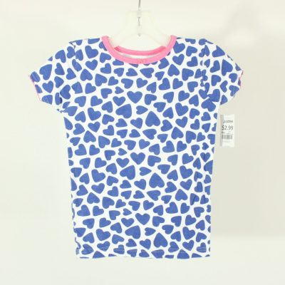 Carter's Blue Heart Shirt | Size 5