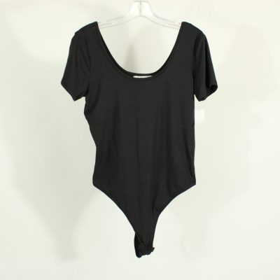 Eye Candy Black Onepiece Tuck-In Top | Size XL