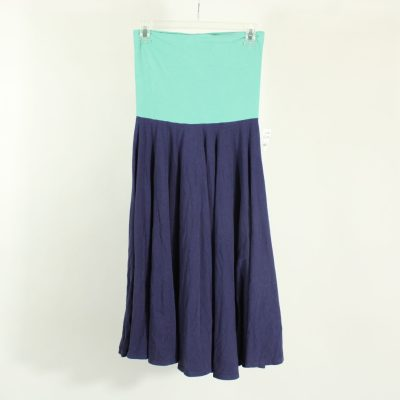 Two Tone Blue Skirt | Size 8