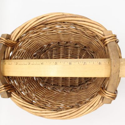 Brown Oval Basket