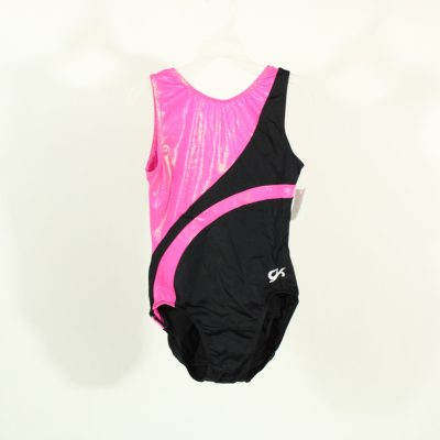 Black & Pink Leotard | Size 10/12