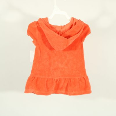Op Coral Orange Terry Cloth Dress | Size 12M