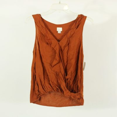 A New Day Burnt Orange Tank Top | Size S