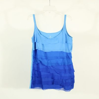 New York & Company Blue Gradient Top | Size M