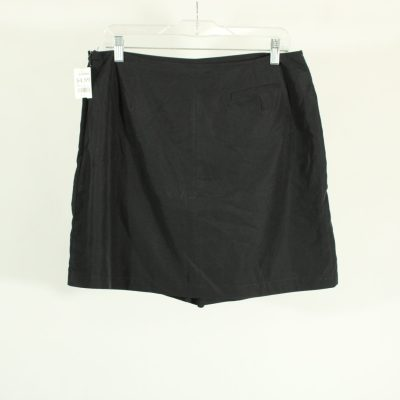IZOD Polyester Black Athletic Skirt | Size 12