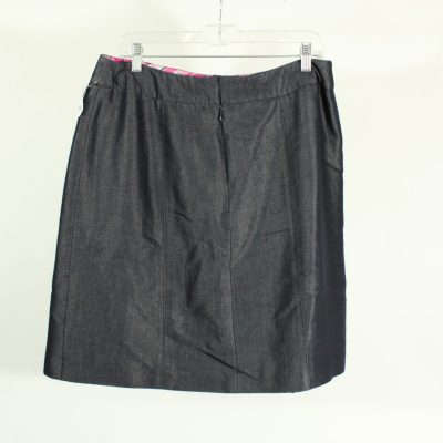 Norton McNaughton Chambray Skirt | Size 14