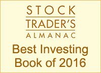 Stock Trader's Almanac 2016 Best Investing Book