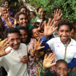 Children at Kaipare Lutheran Church, Papua New Guinea