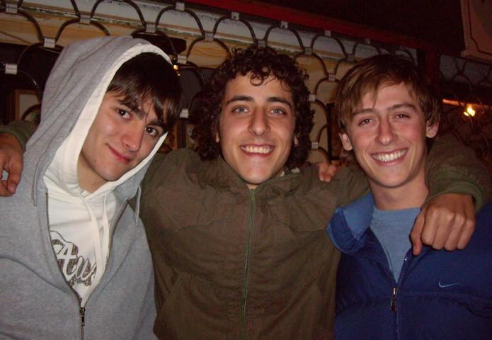 JP, Tomás y yo
