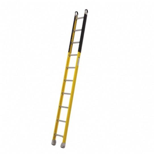 10' Fiberglass Straight Ladder Utility Supplies High