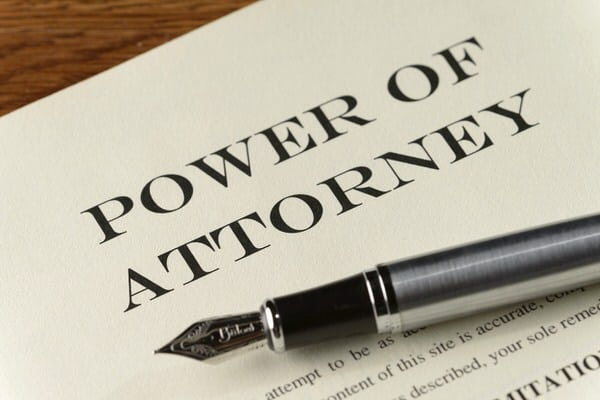 suspect dementia-power of attorney