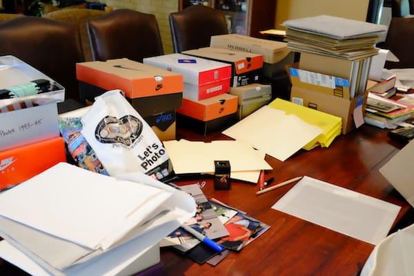 digitize your photos+photos in shoeboxes