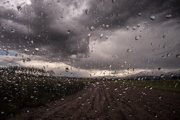 SAD and menopause+car-window-storm