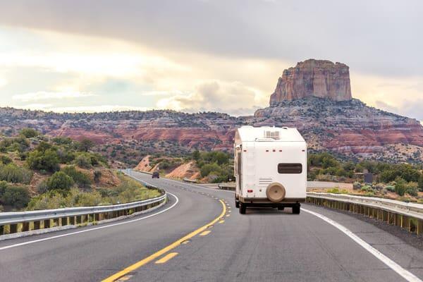 retirement transition+RV-scenic-highway