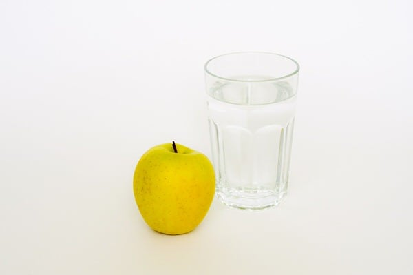 healthy aging fact or fiction+apple-water