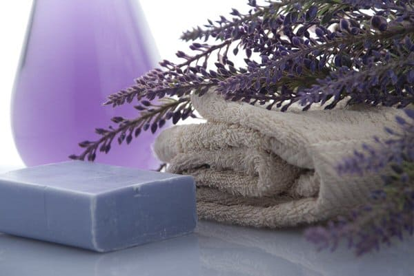 lavender-soap-towel
