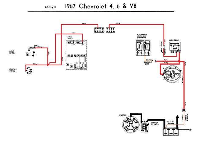 1967 chevelle alternator wiring diagram  wiring diagram
