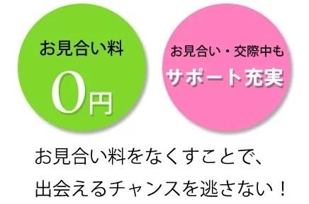 30代女性が選ぶ福岡天神の結婚相談所ジュブレは全コースお見合い料が無料です