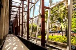 Biblioteca Mário de Andrade - Corredor de Vidro - Foto Juca Lopes