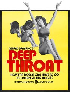 deep throat poster film