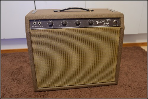 small resolution of fender brownface princeton amp 1962