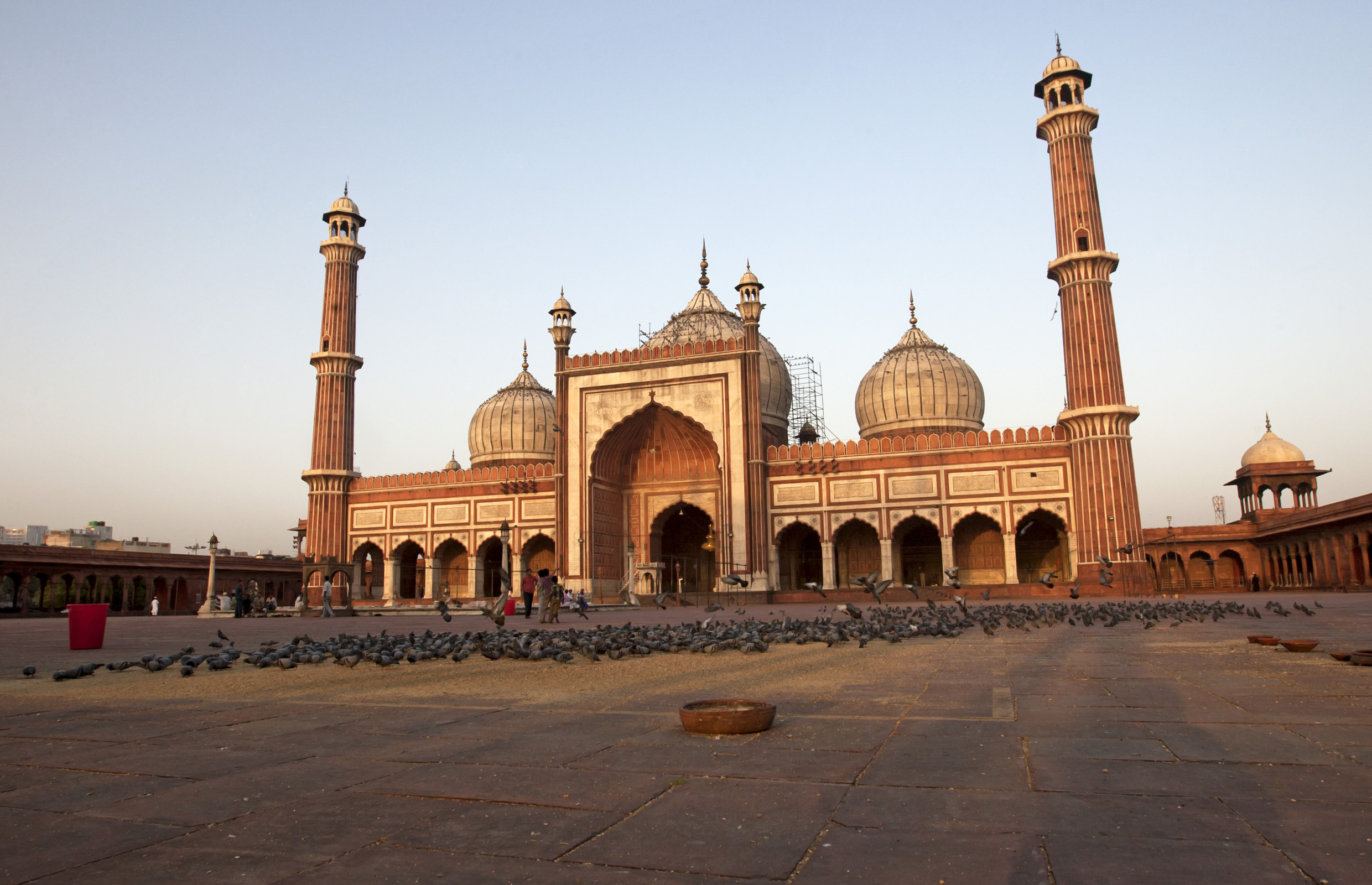 Jama Masjid Mosque, Delhi, India