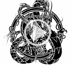 Speed Drawing - Dragon Tattoo Design Illustration by Judah Fansler (Yet another Daily Doodle) - Design Ninja, Artist, Owner at Judah Creative, a Graphic Design & Illustraiton Studio near Branson & Springfield, MO.