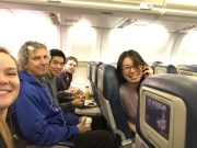 The Vilgalys lab catches an early flight west for Asilomar Fungal Genetics Conference, March 2015