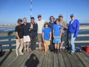 Lab fishing day, June 2013
