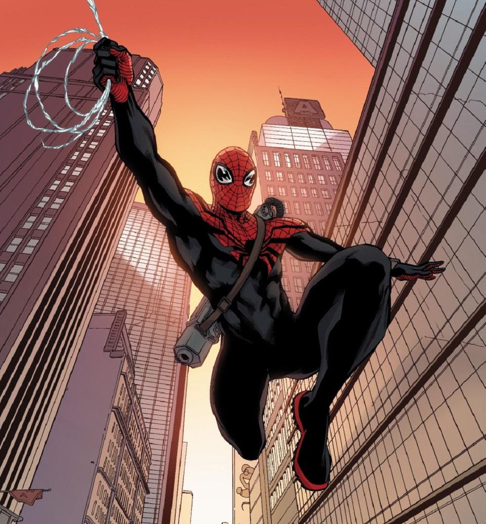 Segundo visual do Homem-Aranha Superior