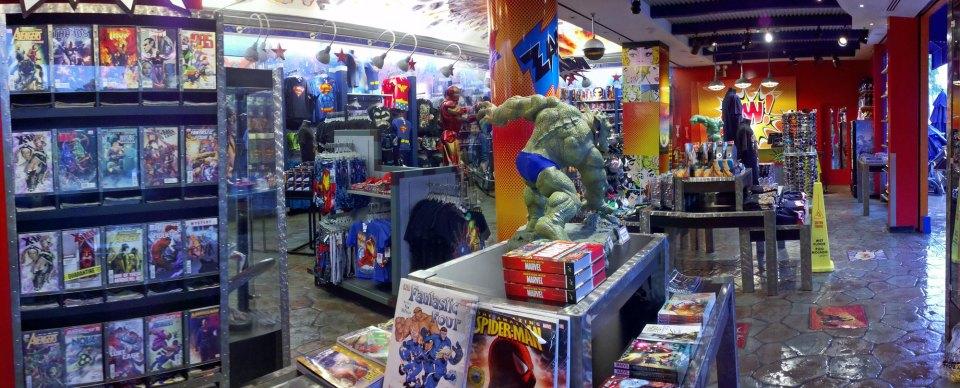 Comic shops assim são poucas, mesmo nos EUA