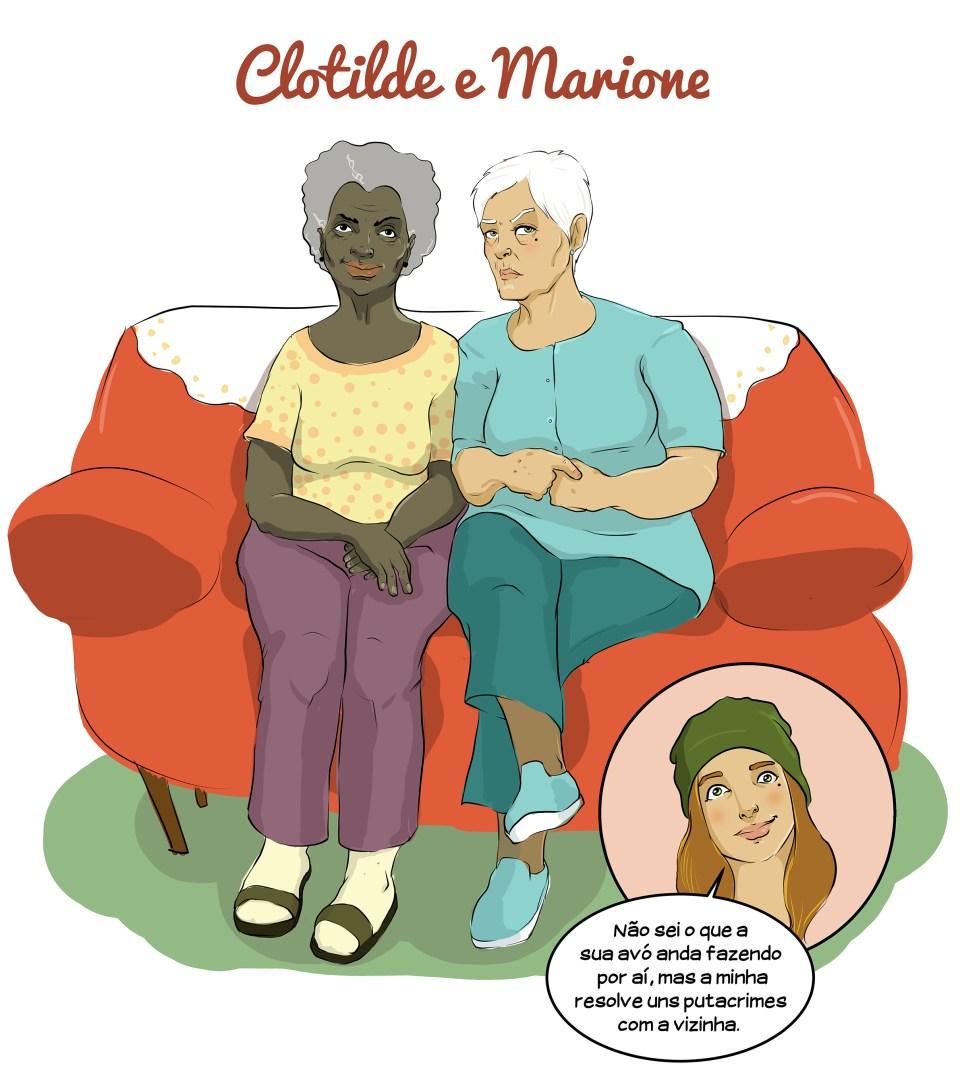 Clotilde e Marione