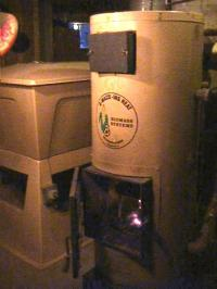 Corn burning furnace