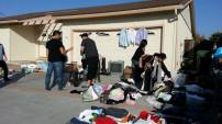 1st ever garage sale for OCC