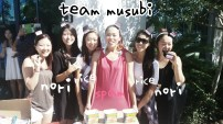 2nd Service Team: We coordinated our clothes to look like Spam Musubi too!