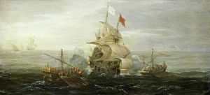 640px-French_ship_under_atack_by_barbary_pirates