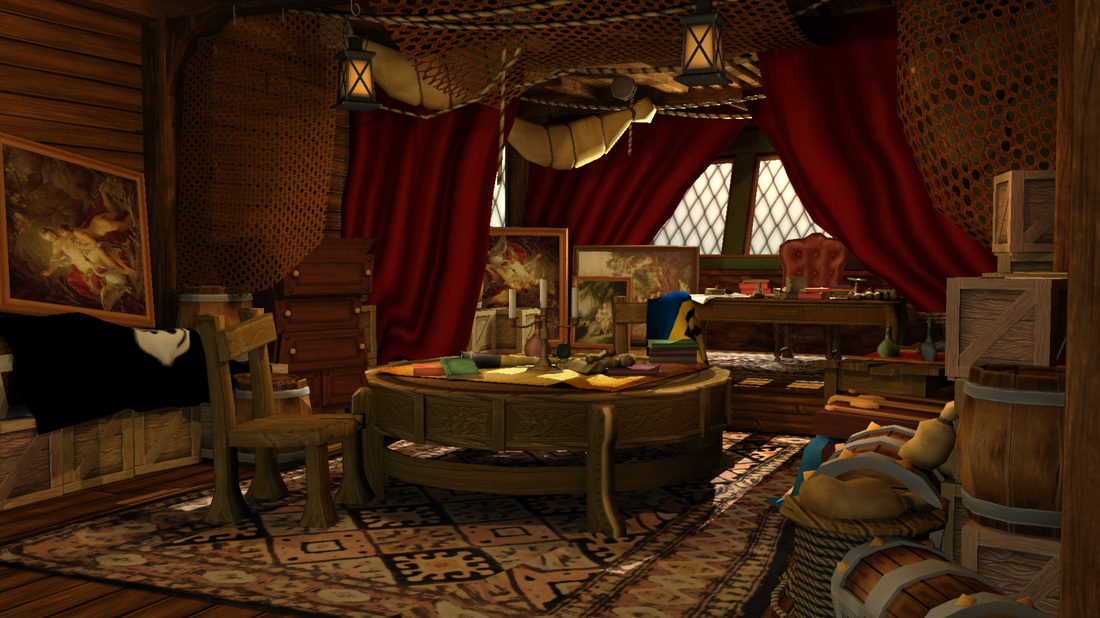 Captain S Room On Pirate Ship