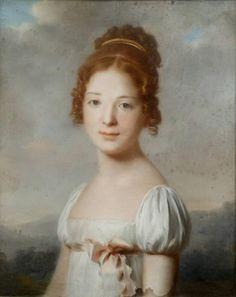 Knight - Gingerbread Bride - Mary Pritchard - English School - Portrait of Girl
