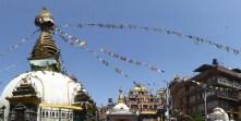 Stupa à Katmandou