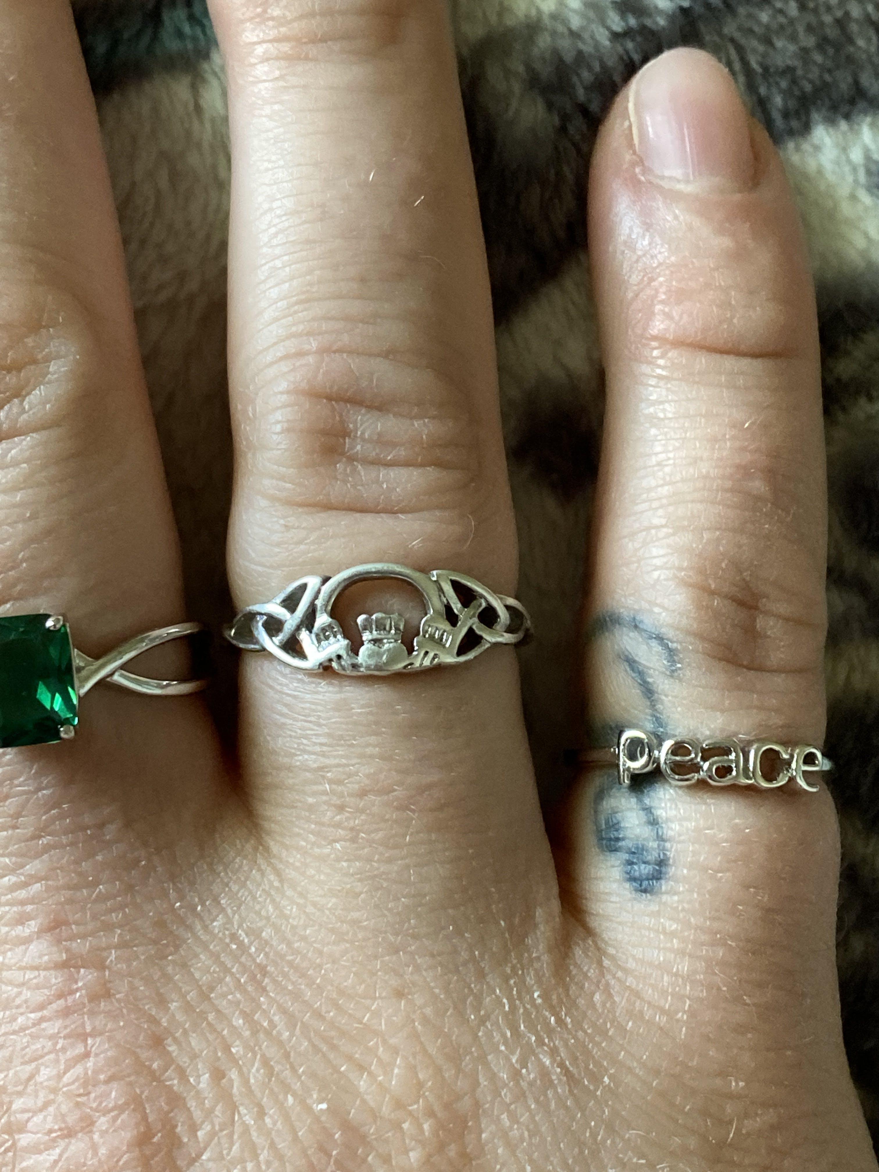 Dreamland Jewelry Rings : dreamland, jewelry, rings, Sterling, Silver, Claddagh