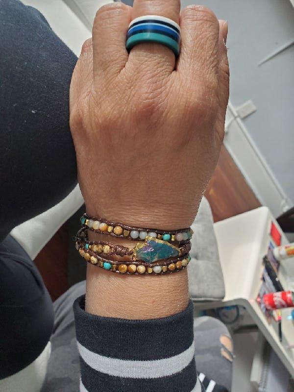 Purity of the Soul - Arrowhead Wrap Bracelet