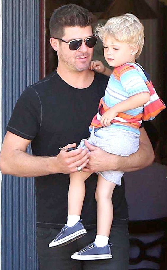 Robin Thicke Under Criminal Investigation For Abusing His Son