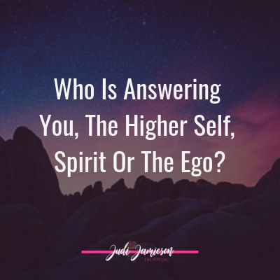 Spiritual development – Who is answering you?