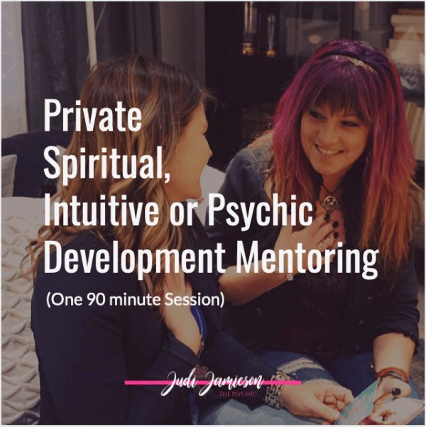 Private Psychic mentor training