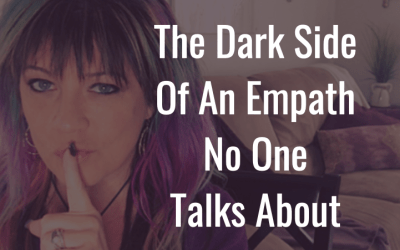 The empaths dark side no one talks about.  Your not crazy